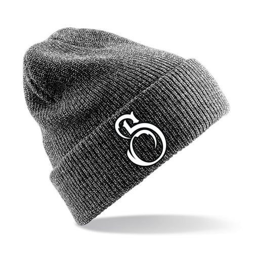 Spineless 'S' Emblem Beanie Heather Grey