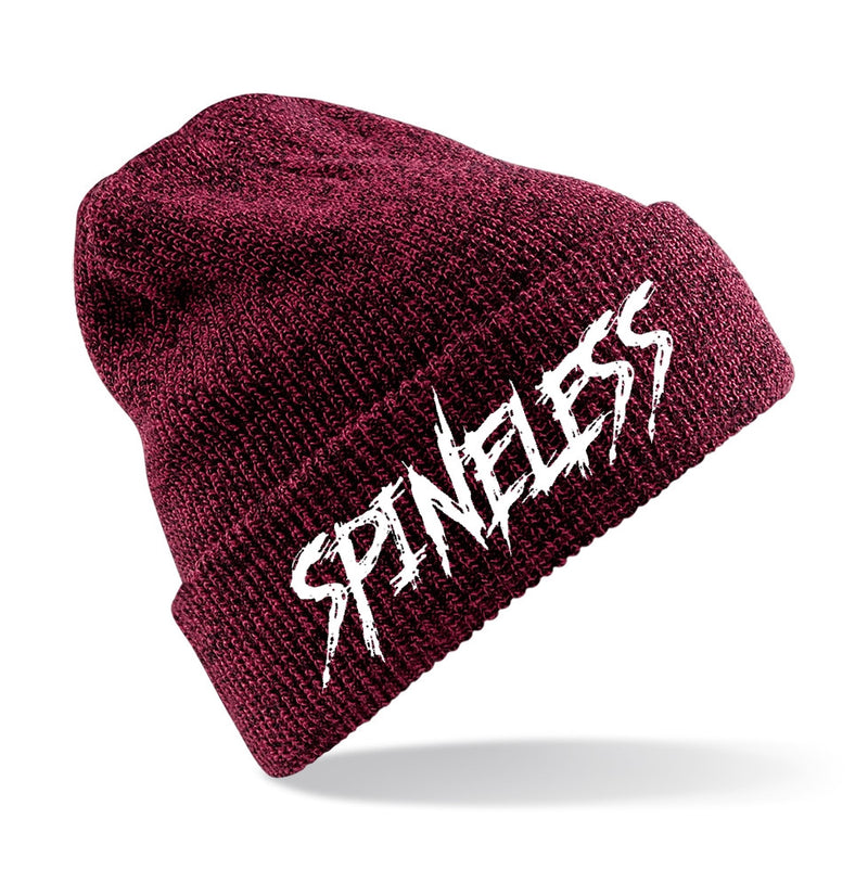 Spineless Logo Beanie - Burgundy