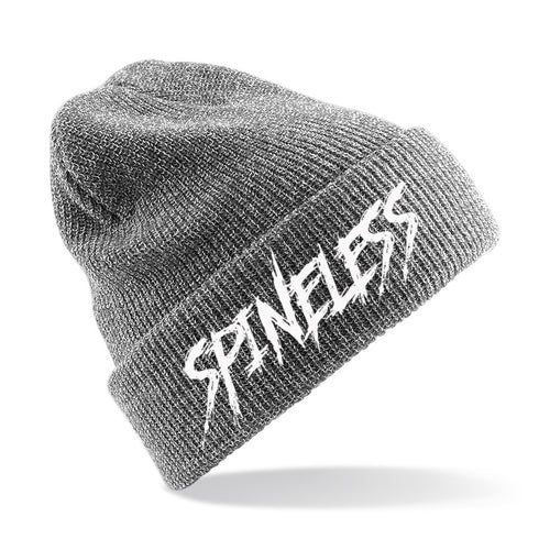 Spineless Logo Beanie - Heather Grey