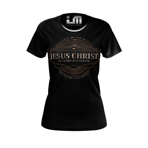 Jesus Ladies Tee: The Carpenter's son Edition