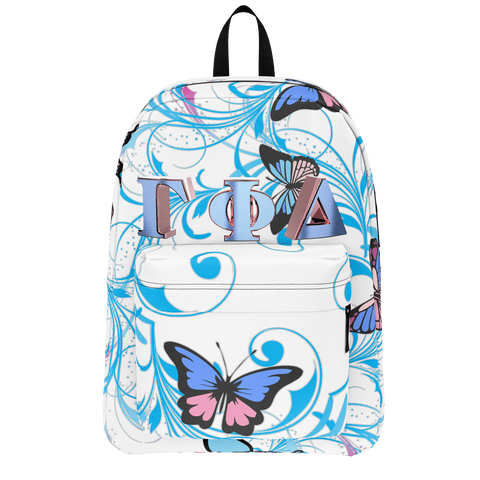 Gamma Phi Delta Butterfly Backpack