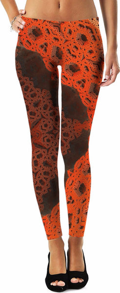 Lava Fractal Leggings
