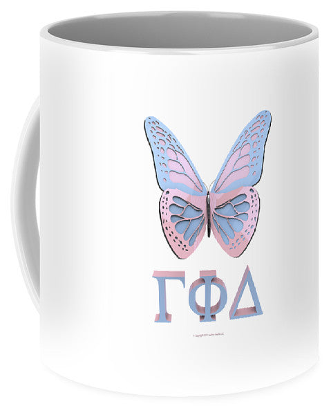 Gamma Butterfly Wings 3d - Mug
