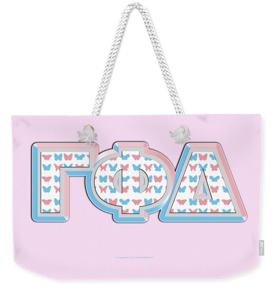 Gamma Phi Delta Greek - Weekender Tote Bag