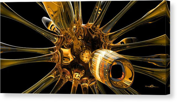 Glass Organism 001 - Canvas Print