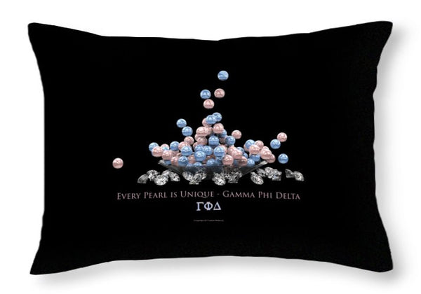 The Pearls Of Gamma Phi Delta - Throw Pillow