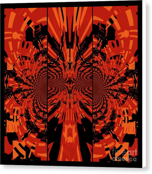 Tribal Lion - Canvas Print