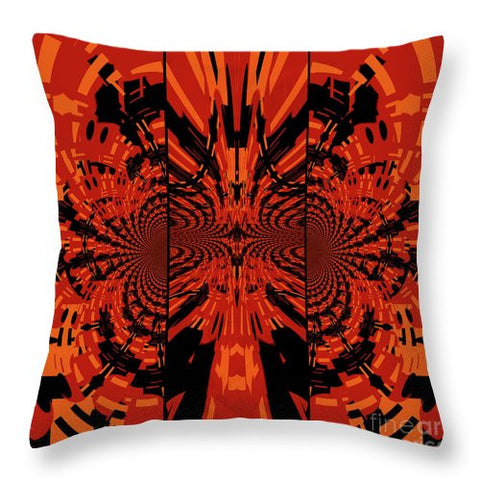Tribal Lion - Throw Pillow