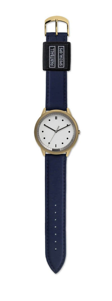 02 Nato Watch - Gold White w/ Navy Bomber