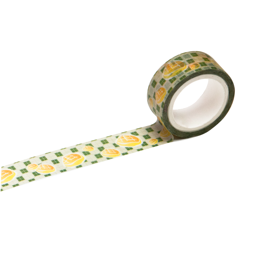 Pineapple Bun Washi Tape