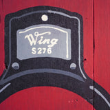 Lock- Wing | Hand-Painted Wooden Sign