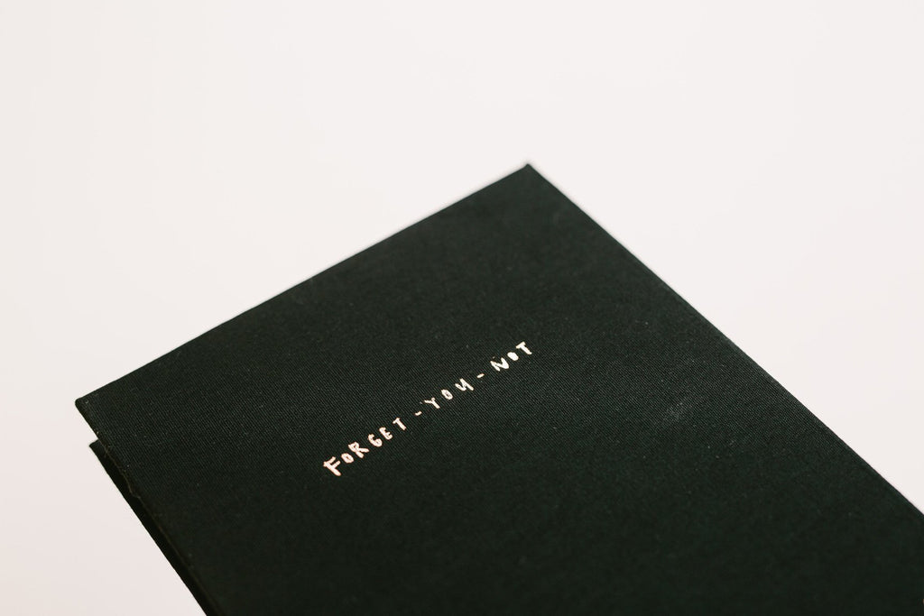 Sketchbook - Forget-You-Not Fabric (Black)