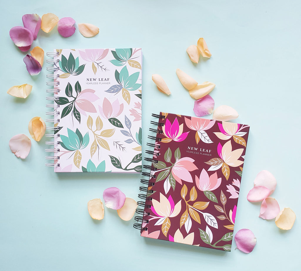New Leaf Planner - Green