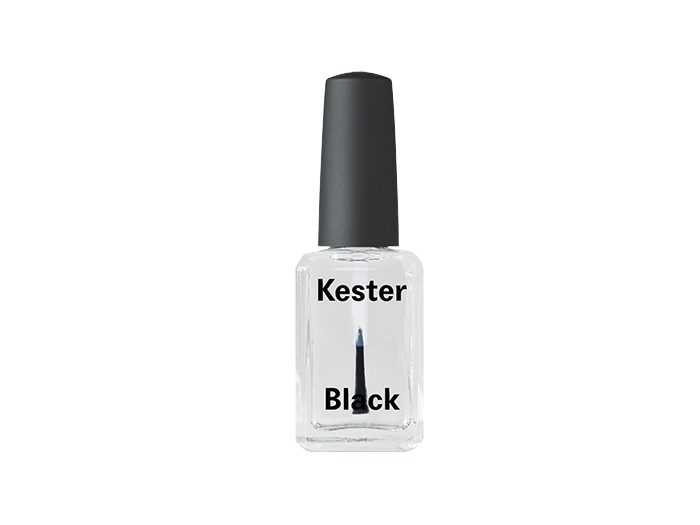 Kester Black Top Coat Nail Polish