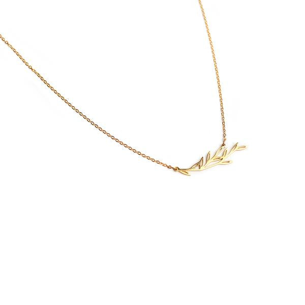 Maple Minimalist Necklace