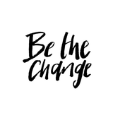 Be The Change Temporary Tattoo