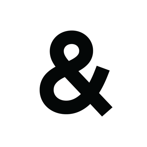 Ampersand Temporary Tattoo