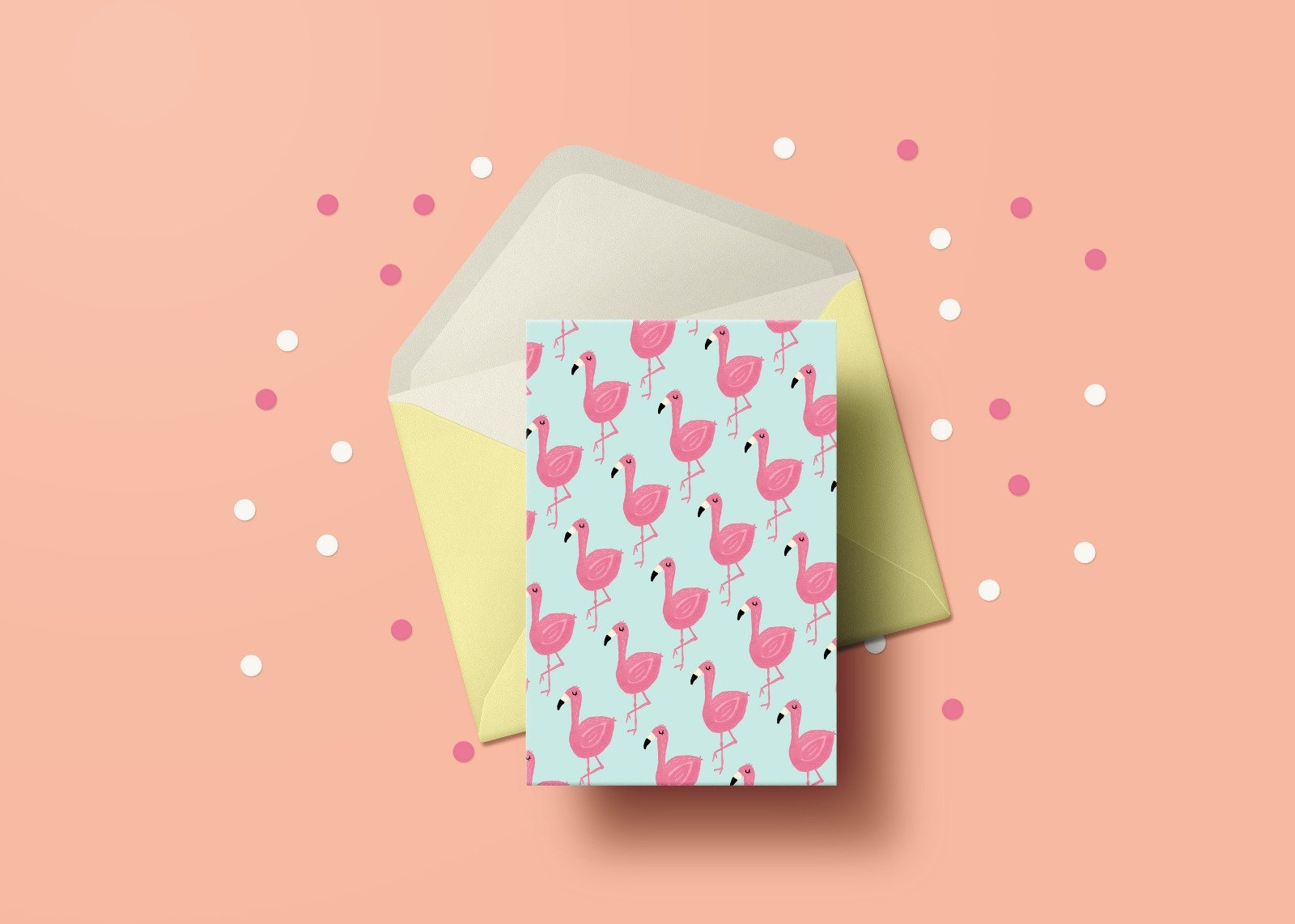 Flamingo Greeting Cards