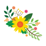 Sunny Spring Temporary Tattoo