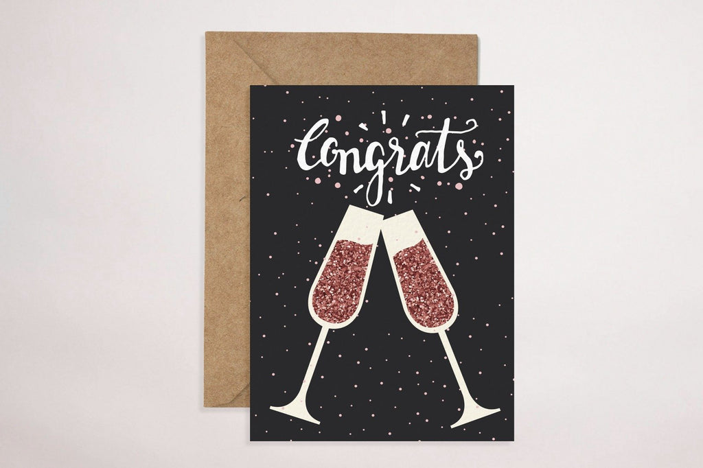 Congratulations (Cheers) Cards