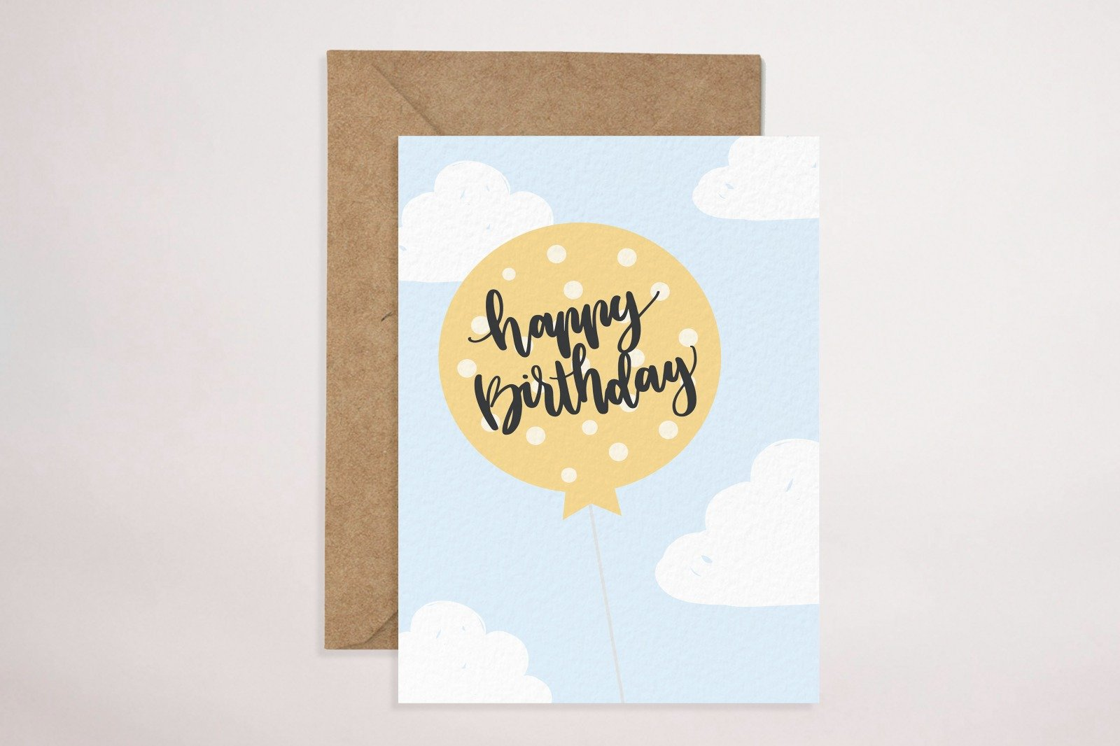 Birthday Card (Clouds)
