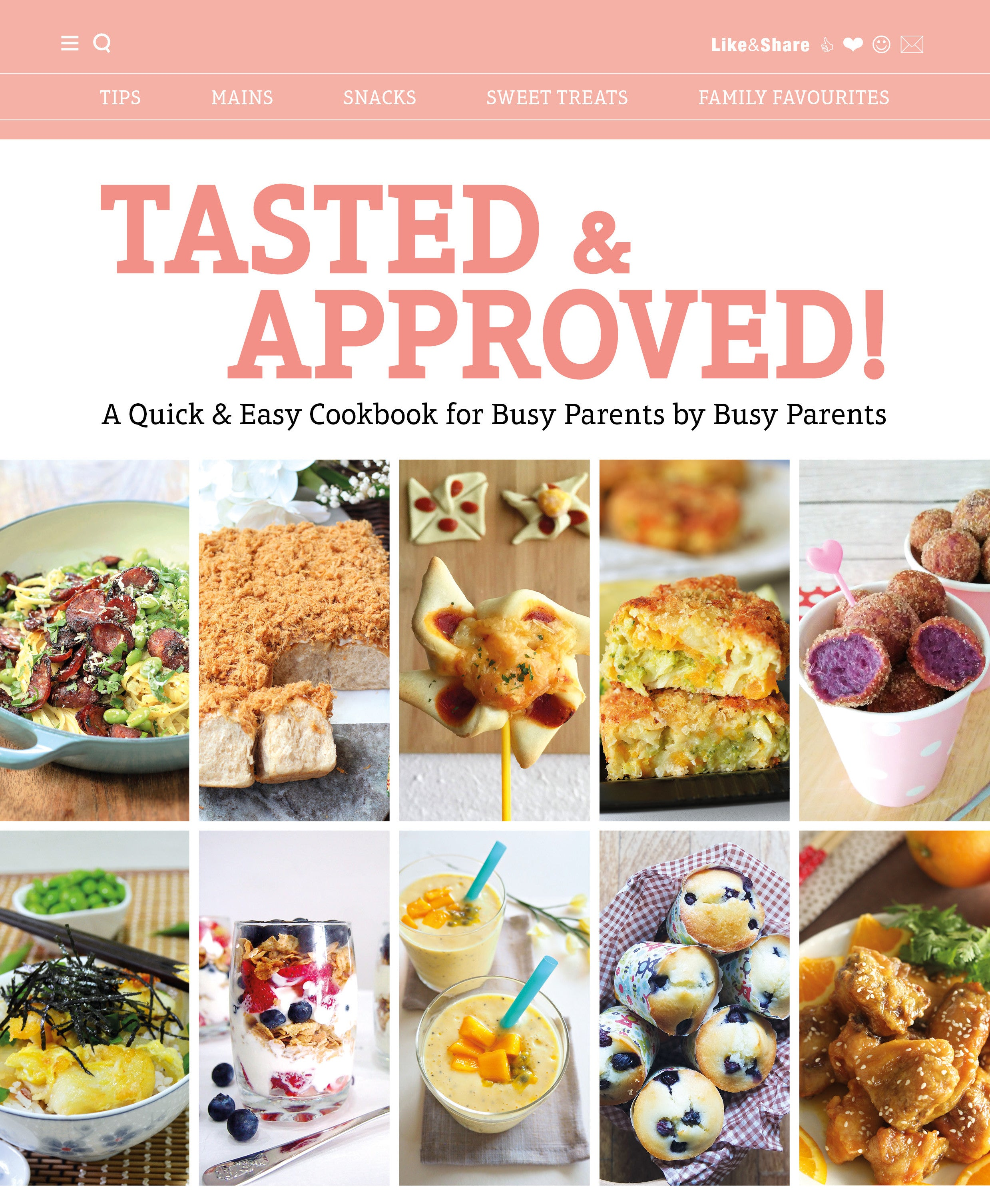 Tasted & Approved! Cookbook