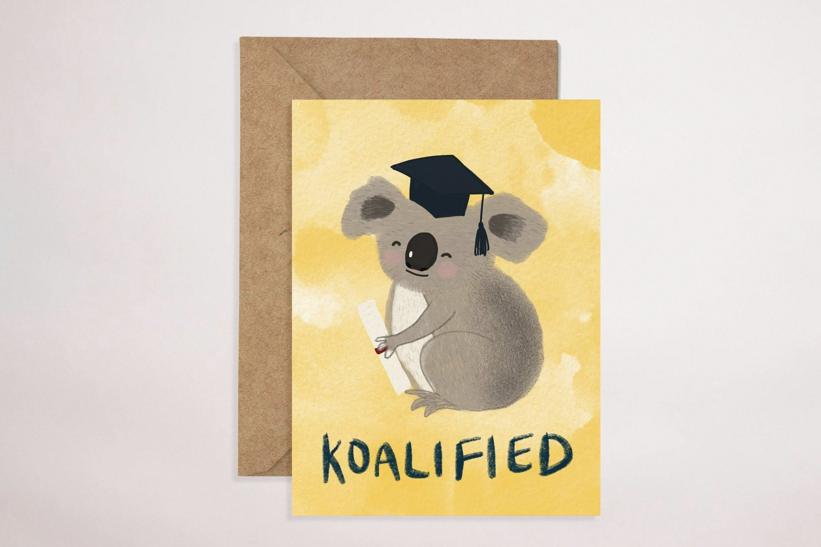 Koalified Greeting Card