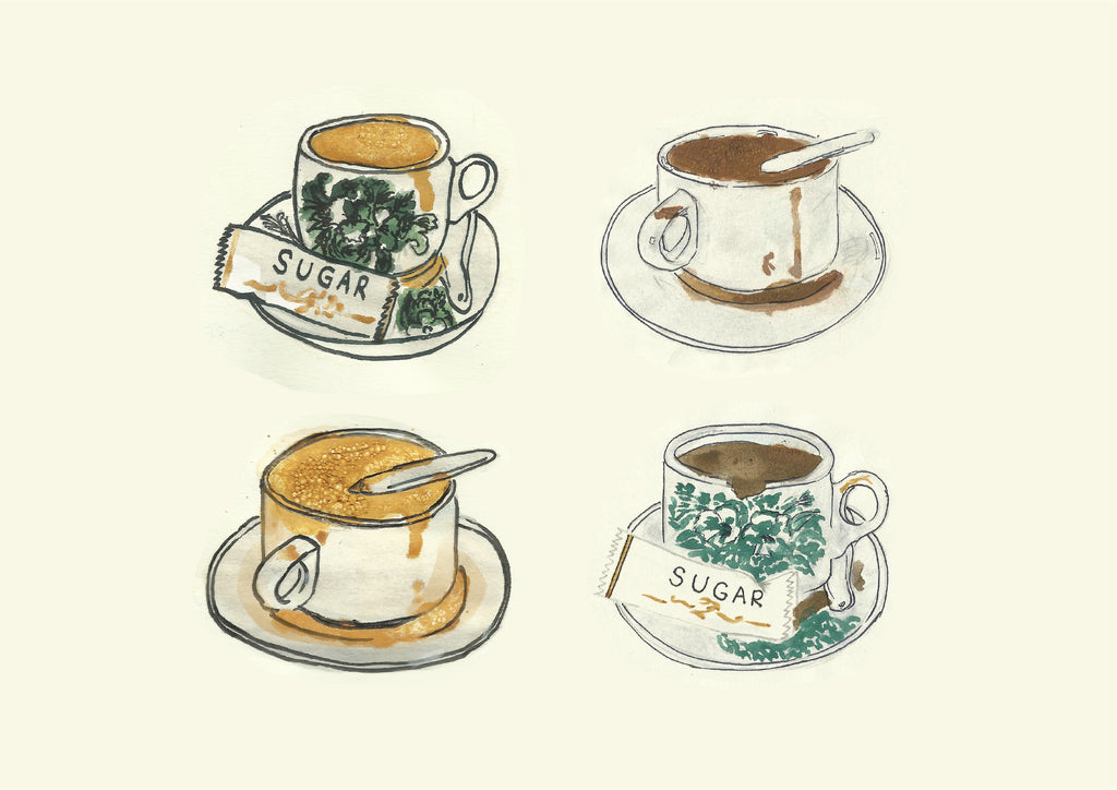 Kopi & Teh Printed Artwork
