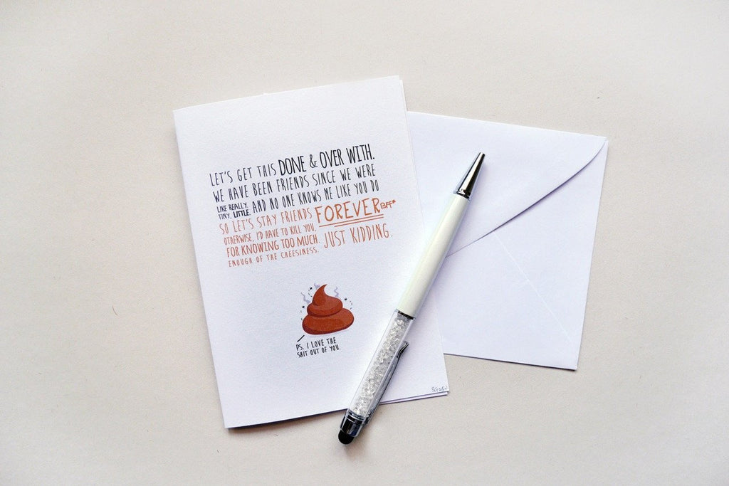 Quirky Best Friend Card