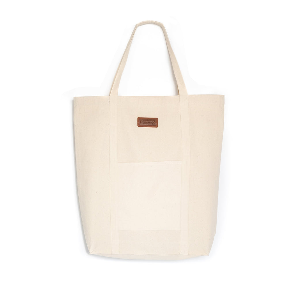 Flourish Shopping Bag - Burgundy