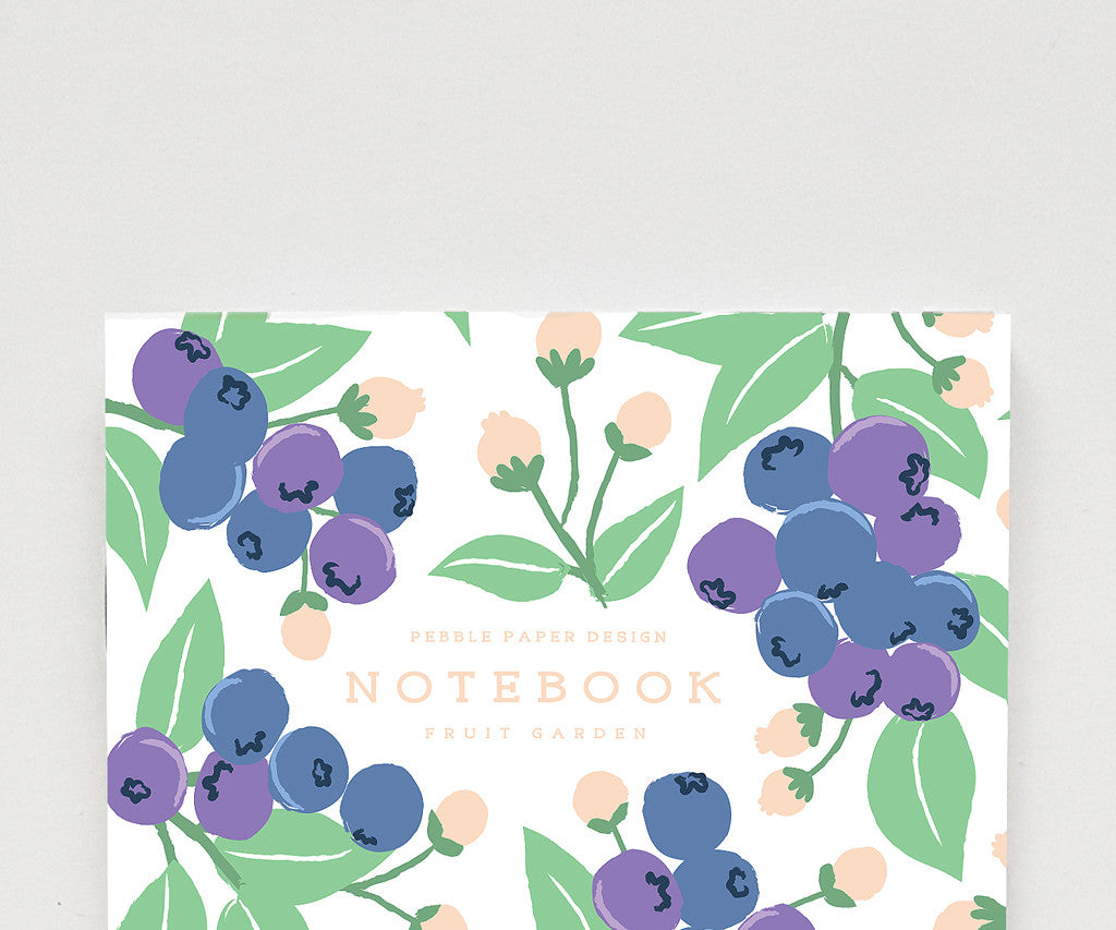 Blueberry Notebook