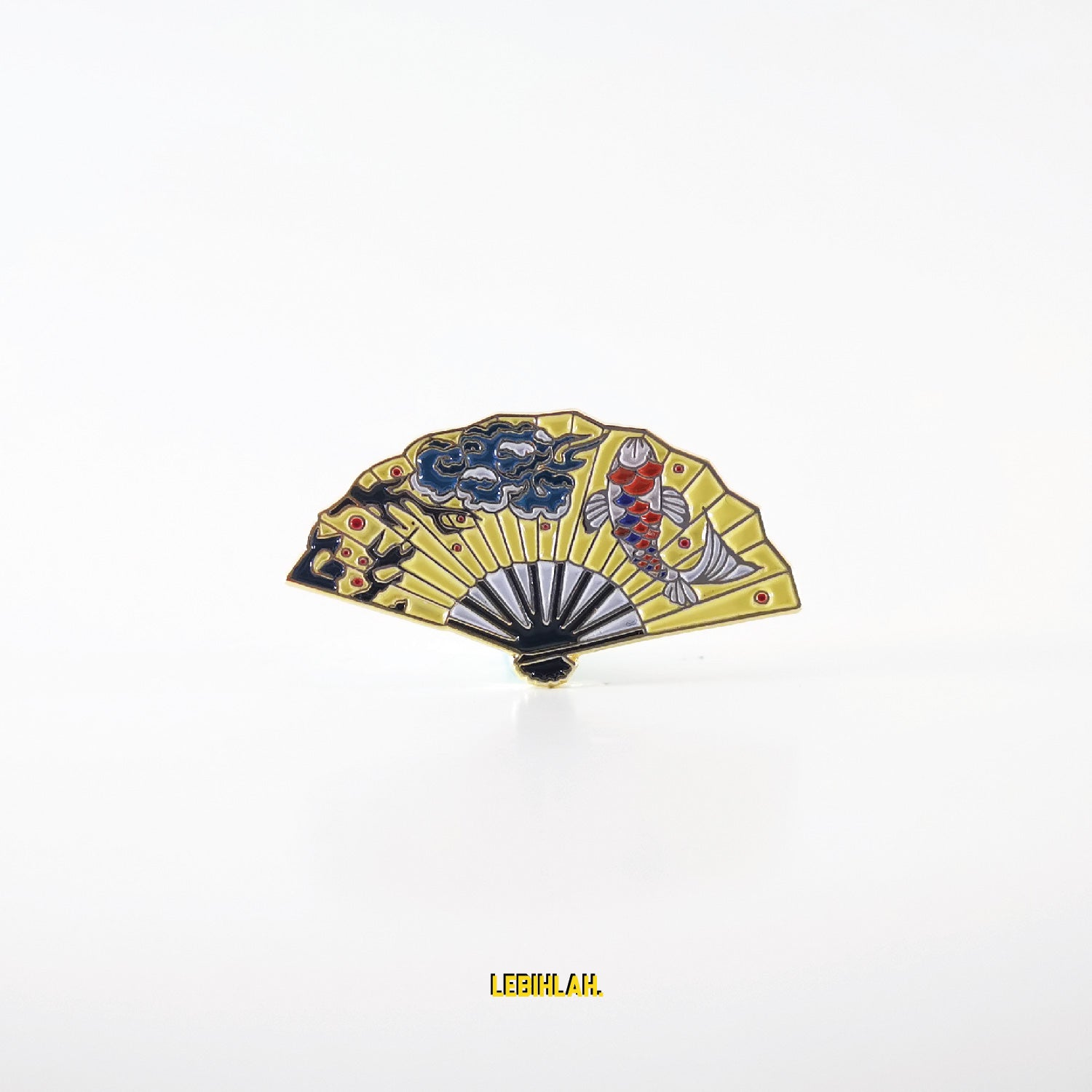 Enamel Pin - Chinese Fan