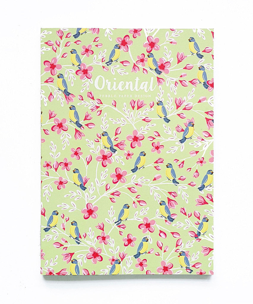 Cherry Birds Notebook