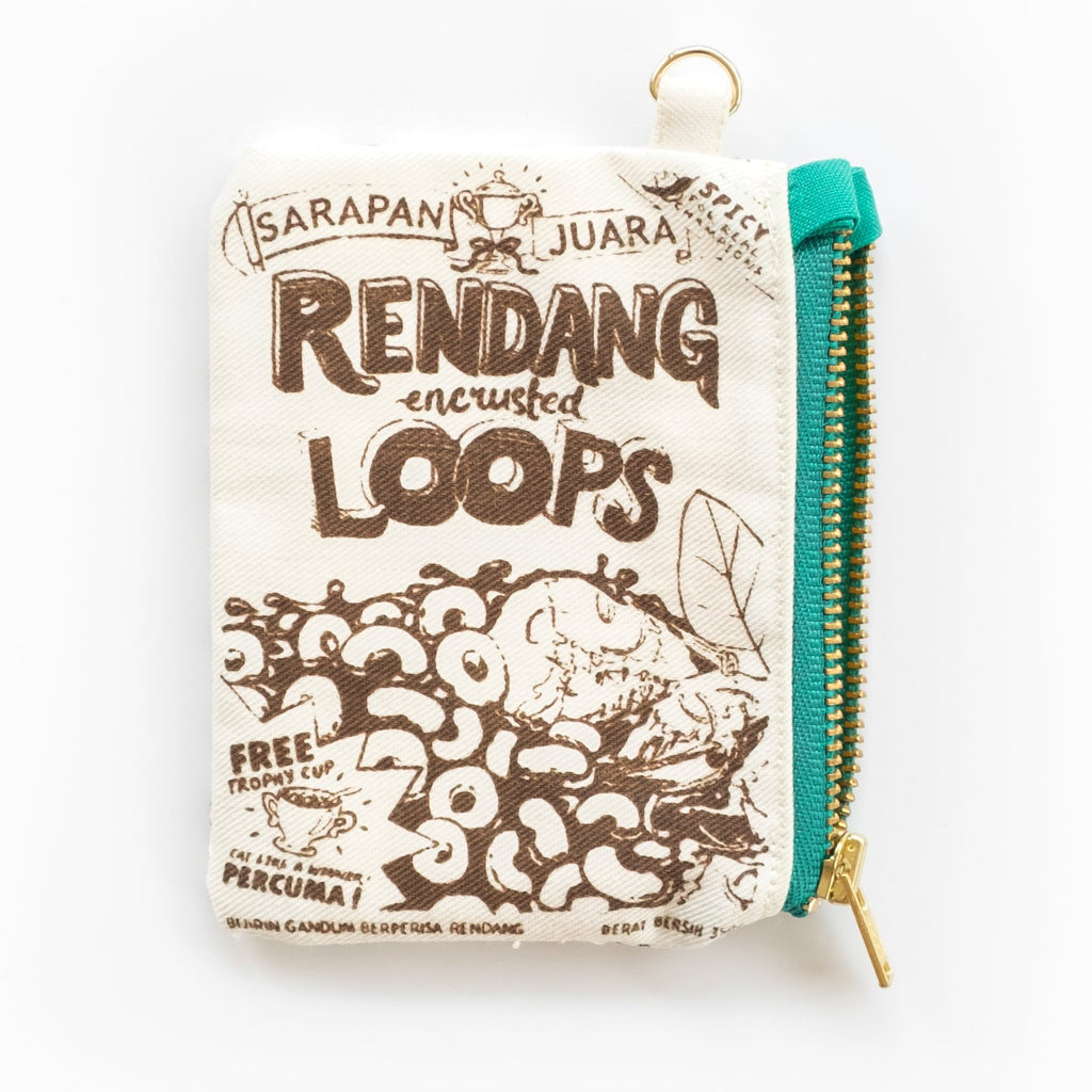 Rendang Cereal Card Pouch