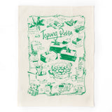 Tepung Pelita Tea Towel - Green