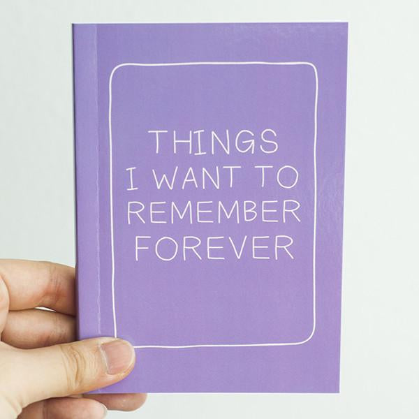 Statement Notebook - Purple
