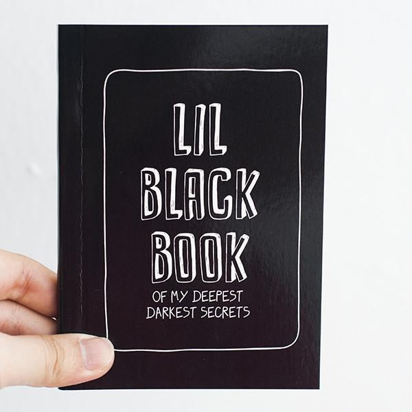 Statement Notebook - Black