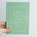 Statement Notebook - Green