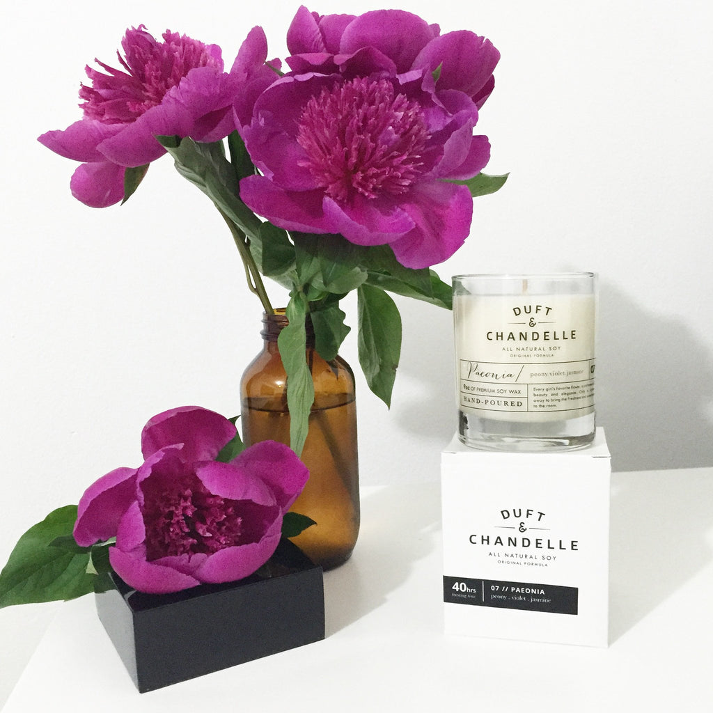 Paeonia Candle