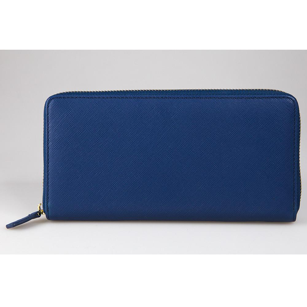 Hilary Wallet - Deep Blue