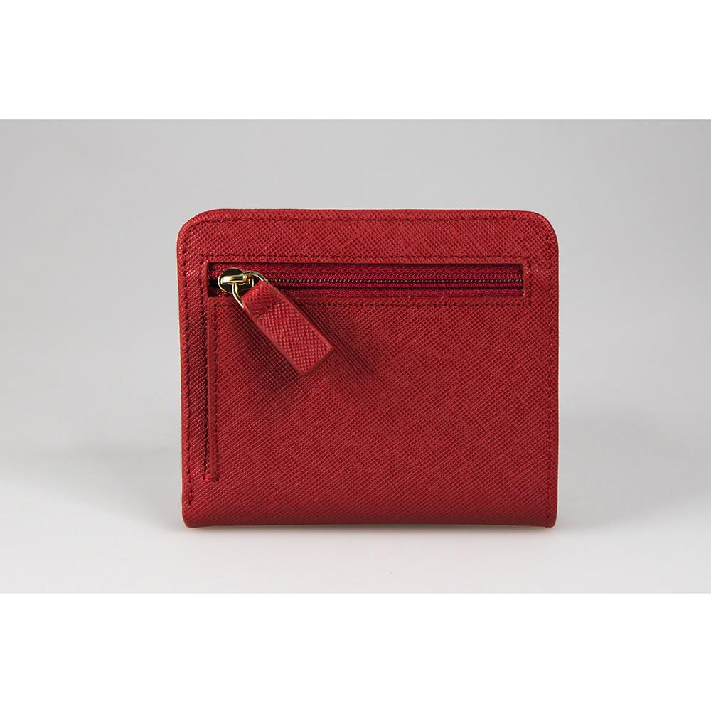 Etta Wallet - Wine Red