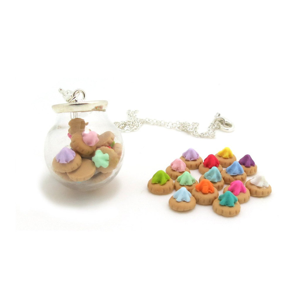 Fancy Gem Globe Necklace