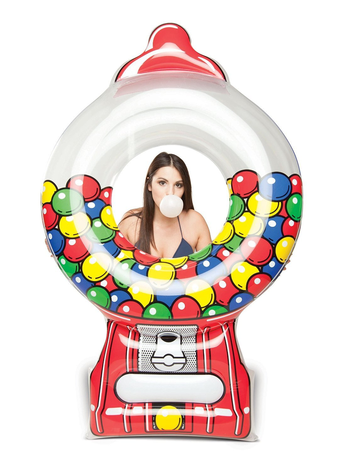 Giant Gumball Machine Pool Float