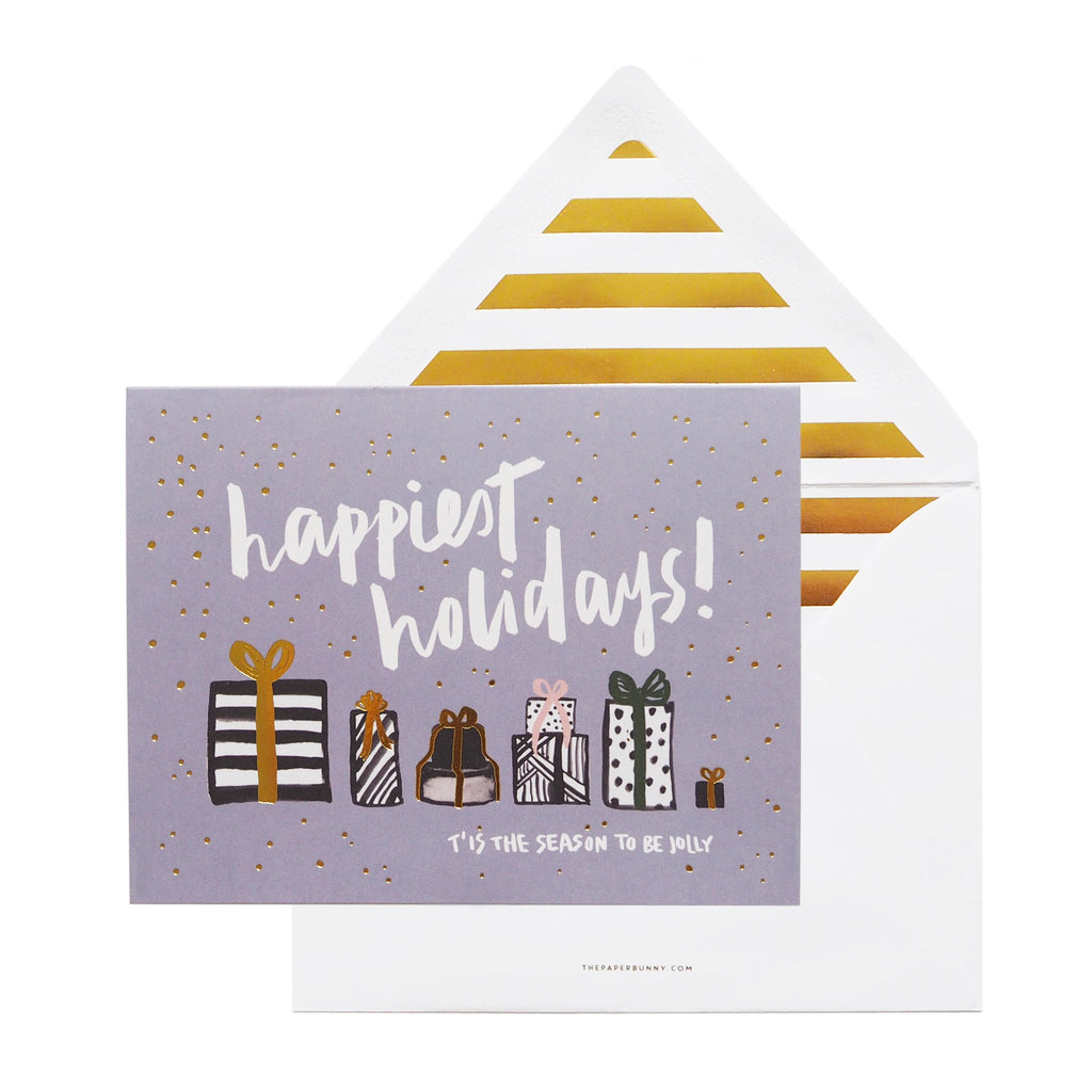 Happiest Holidays Greeting Cards