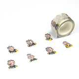 OMQ Faces Washi Tape
