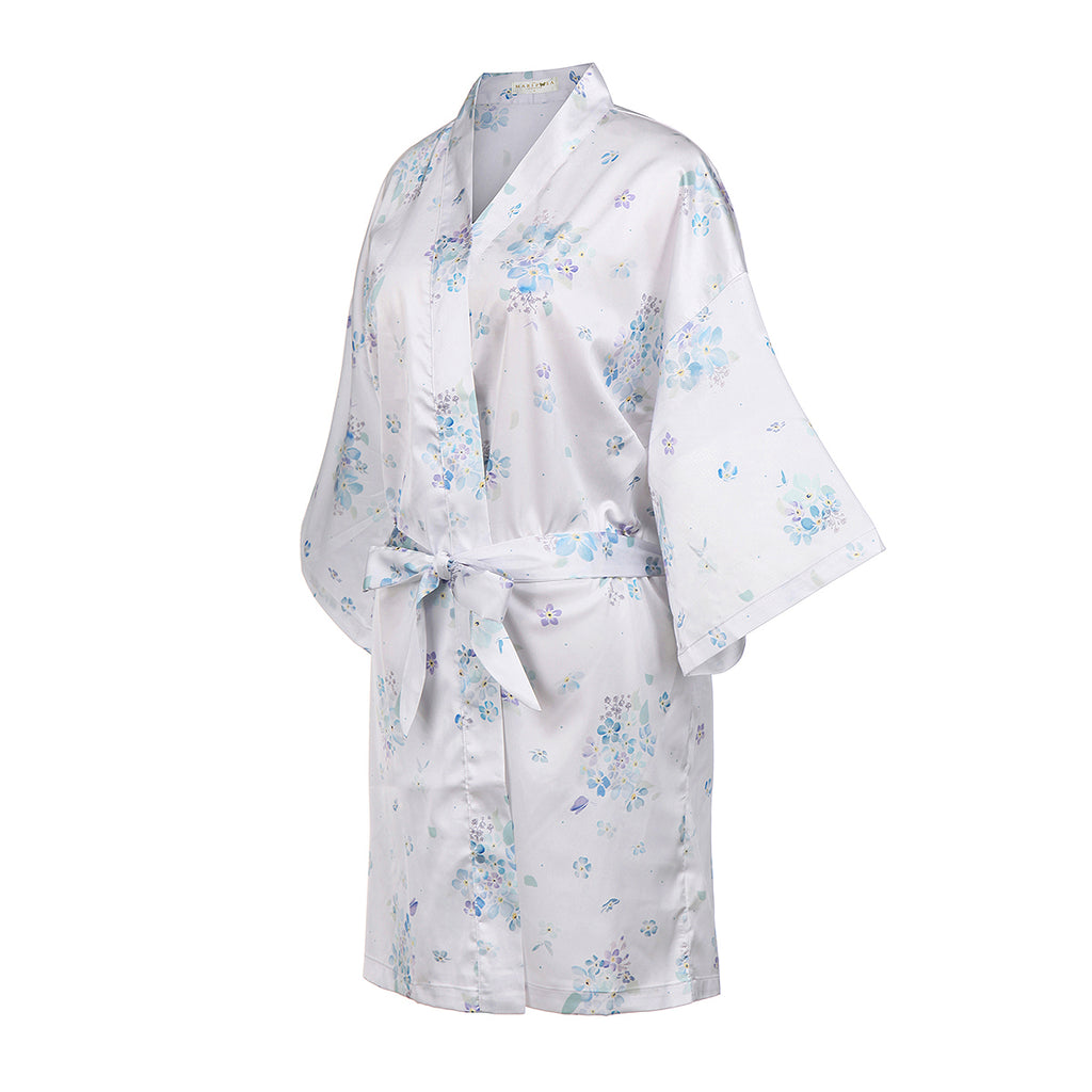 Floating Forget-Me-Nots Short Robe