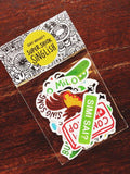 Singlish Stickers - Set B