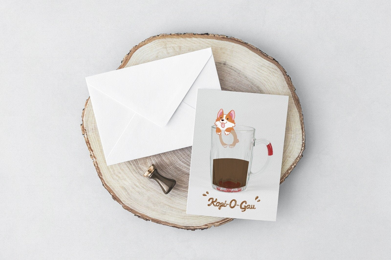Kopi-o-gau Greeting Card