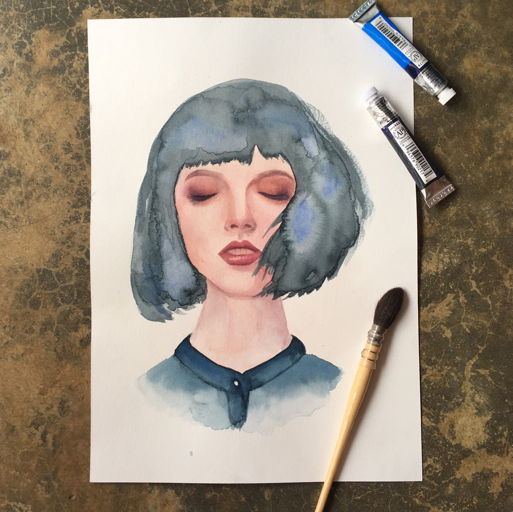 Basics of Watercolour - Portrait Workshop | 26 Aug 2018 | 1pm