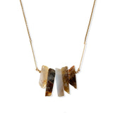 Jasper Shard Necklace